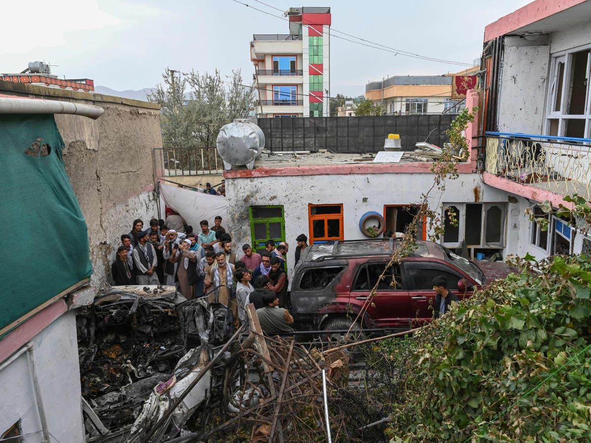 10 members of same family killed in US airstrike near Kabul airport, relative says
