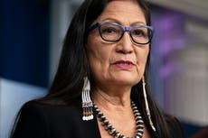 First Native American cabinet member runs Boston Marathon on Indigenous People's Day