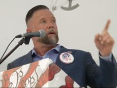 GOP candidate says he wants '20 strong men' to help remove school boards