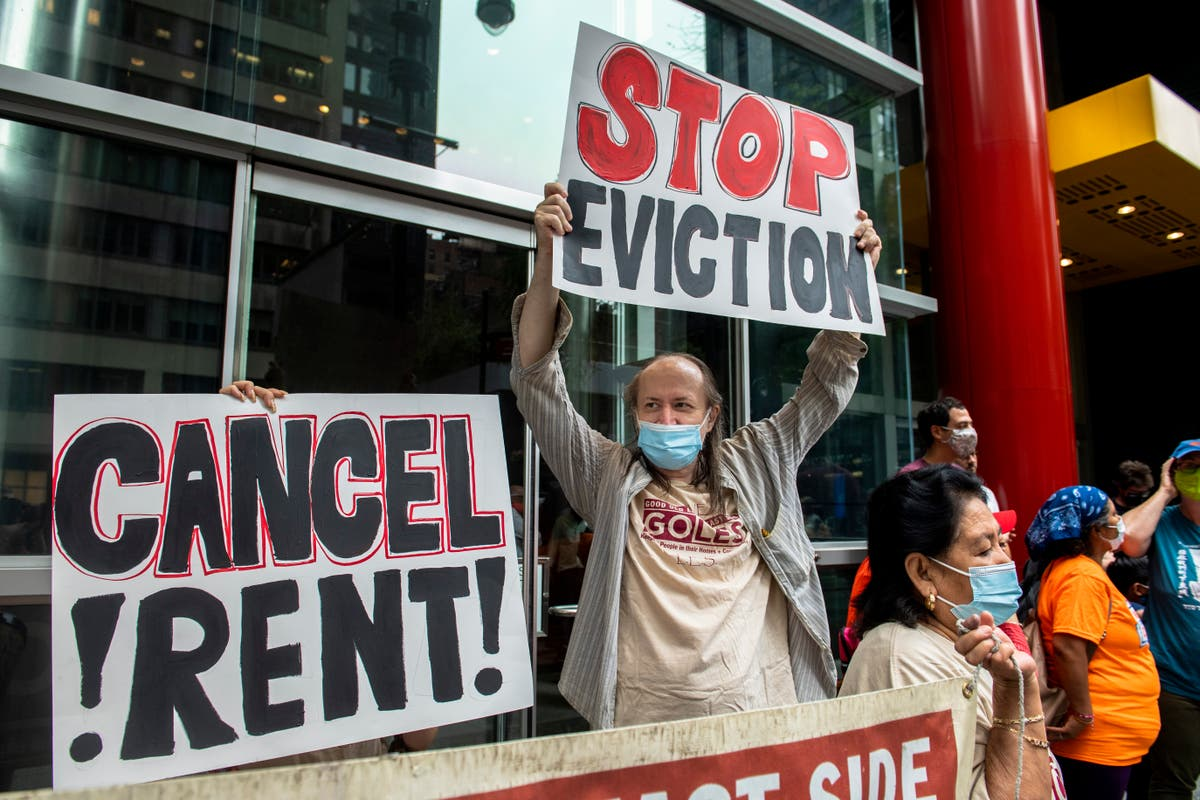 Merrick Garland calls on 'entire legal community' to help block evictions