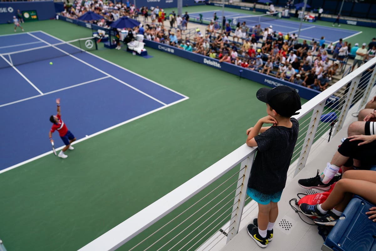 Even as COVID cases rise, US Open, other events welcome fans