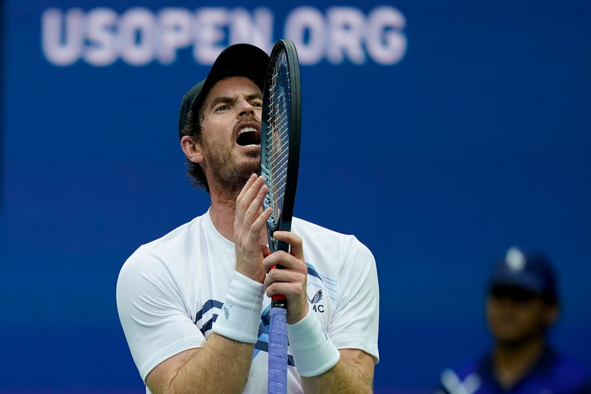 Andy Murray bows out of US Open in testy five-setter with Stefanos Tsitsipas