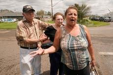 Ida inundates areas around New Orleans while sparing city