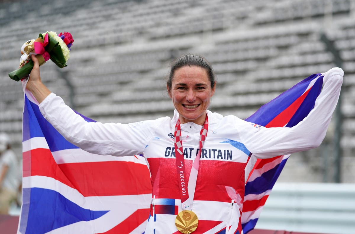Paralympics day seven: Sarah Storey equals British record with 16th gold medal