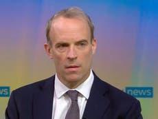 Raab says Pentagon leaks blaming UK for Kabul bomb attack 'just not true'
