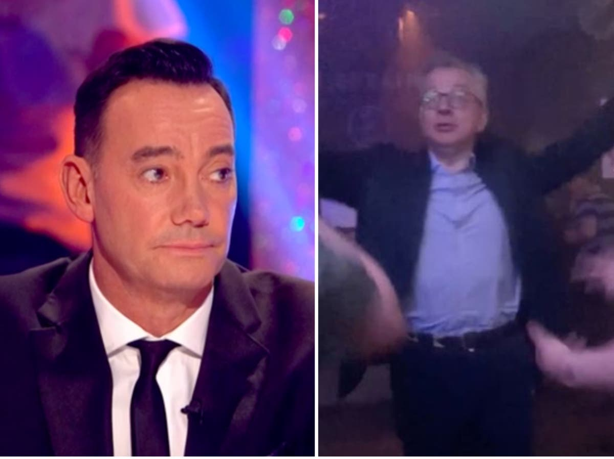 Craig Revel Horwood says Michael Gove should have practised dancing at home first