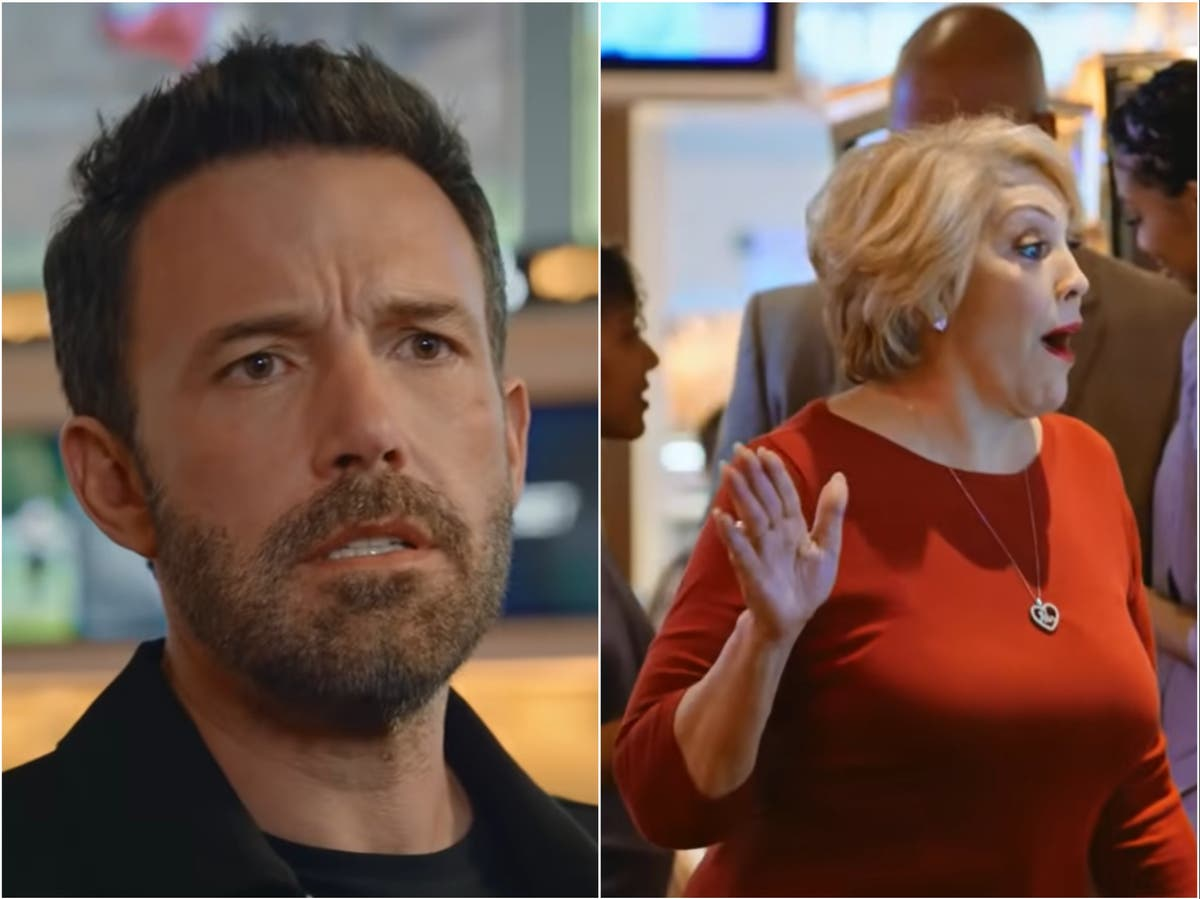Jennifer Lopez's mother makes a cameo in Ben Affleck's new betting app ad