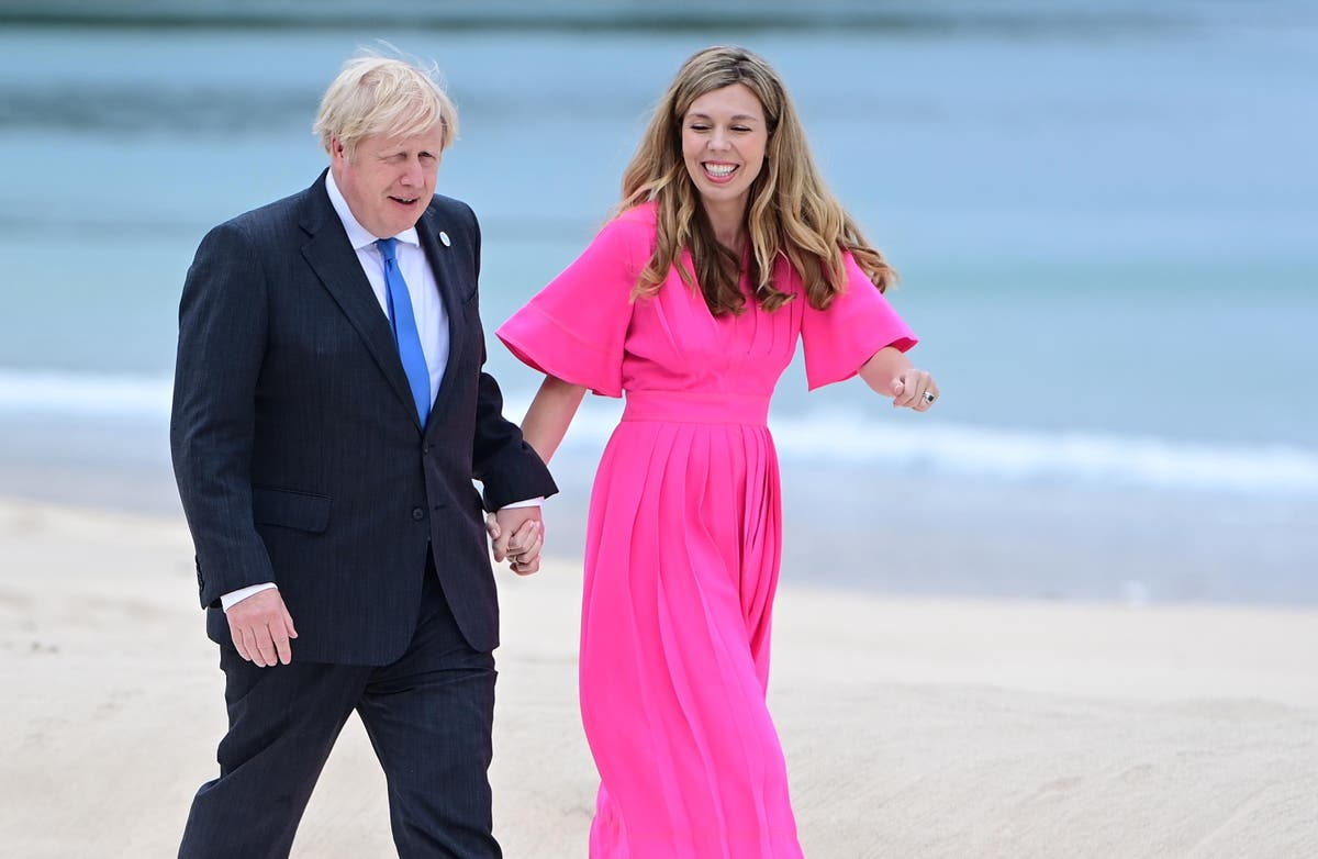 Boris Johnson returns to West Country for 'working break' with family