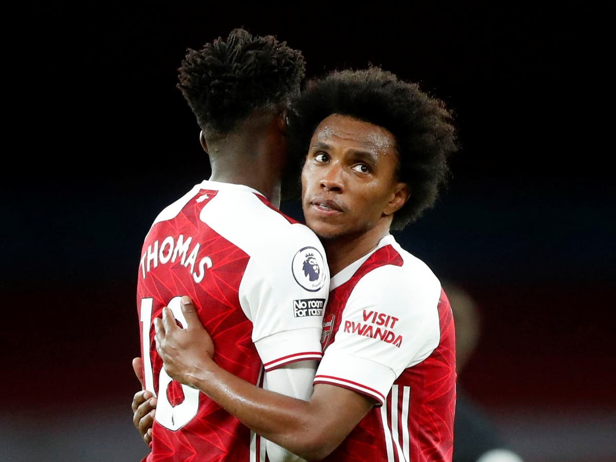 Willian's agent attacks Arsenal after Brazilian leaves the club