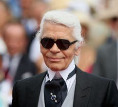 Karl Lagerfeld's iconic fingerless gloves set for auction