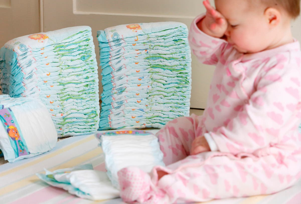 Plans to tax disposable nappies 'untrue' says Number 10