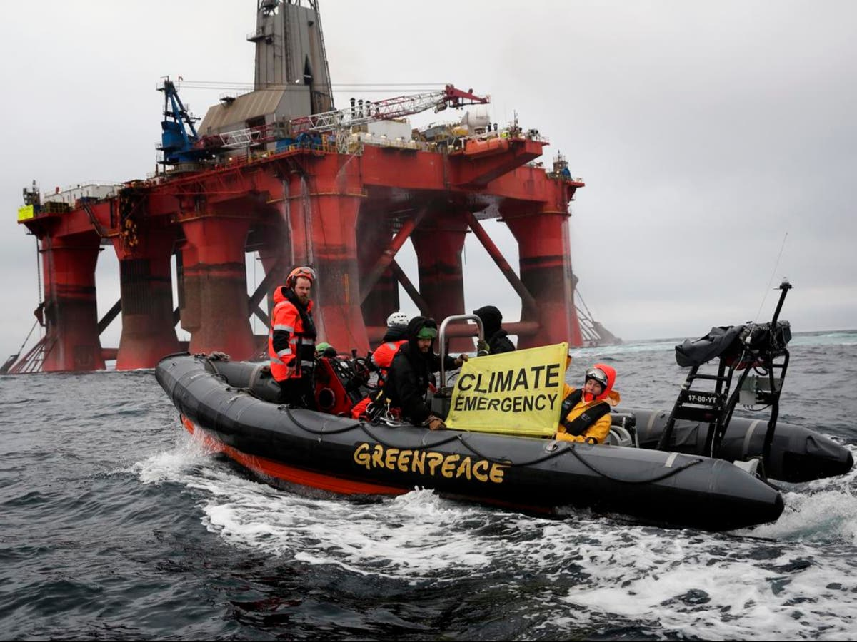'Landmark' court case pits Greenpeace against government over BP oil drilling licence