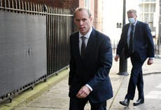 Raab rapped over 'distant' relationship with US as he prepares for grilling by MPs