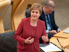 Mandate for Indyref2 'undeniable' as Greens join Scottish government, Sturgeon says