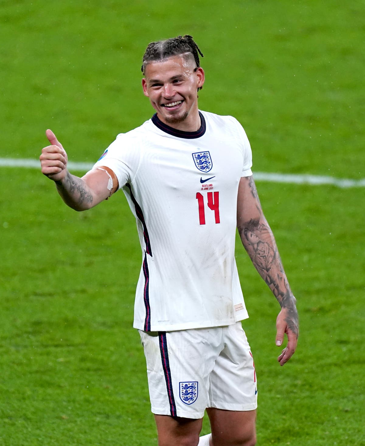 Kalvin Phillips thinks England fans are getting the message