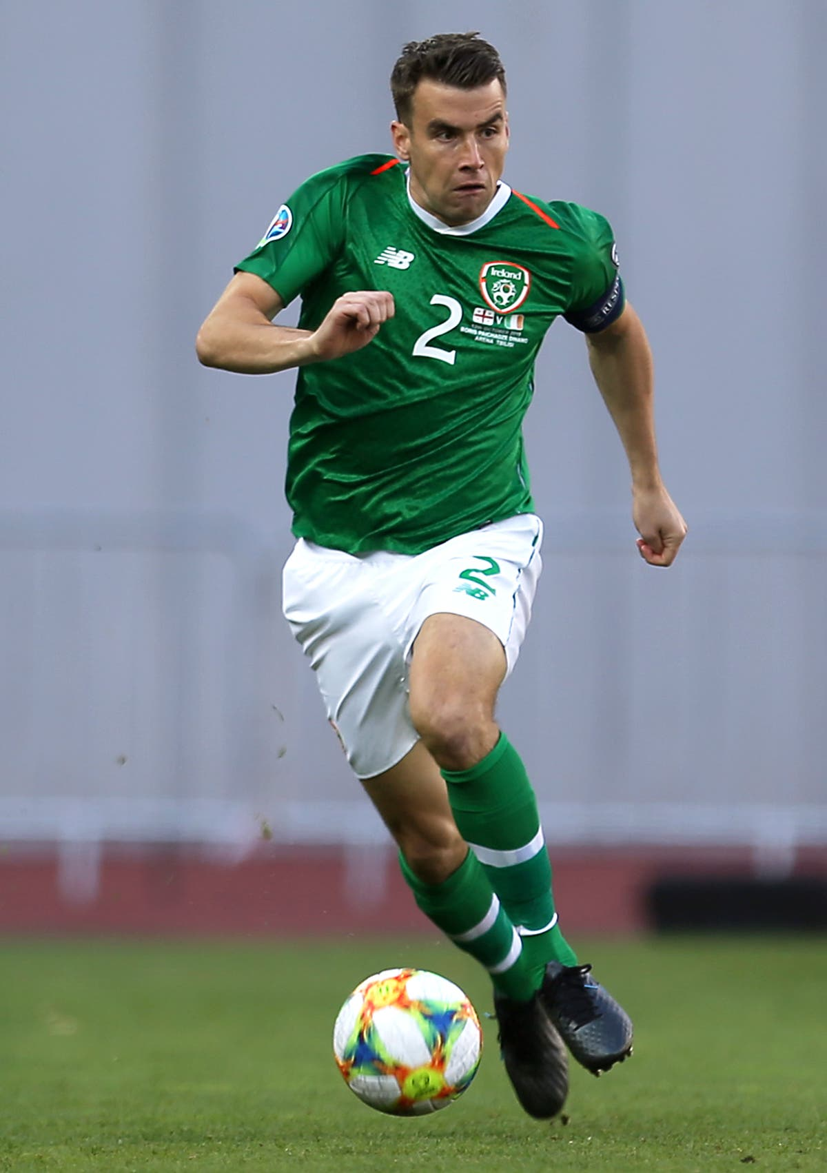 Seamus Coleman will continue to lead by example as he skippers Republic
