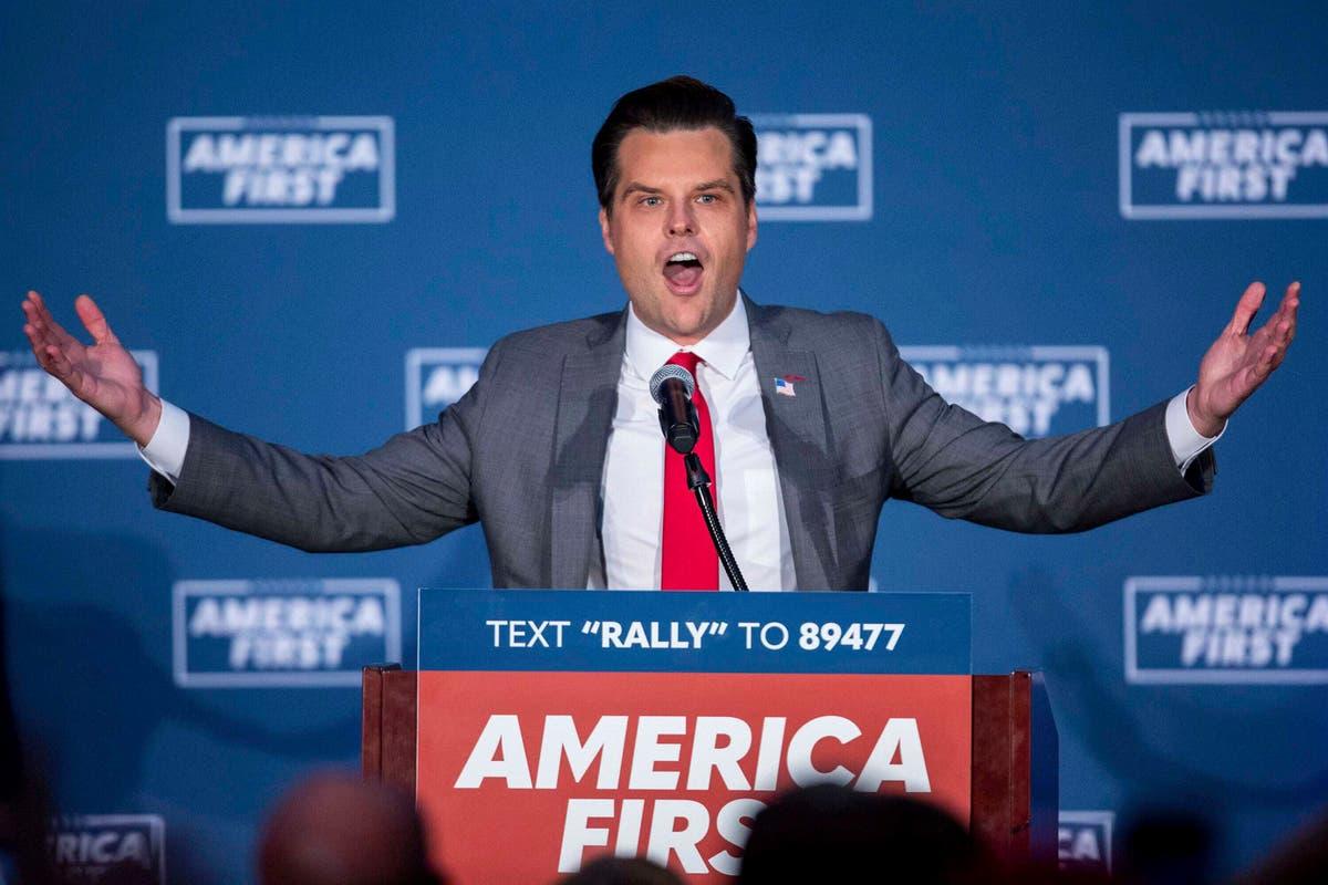 Matt Gaetz labelled 'delinquent' for failing to pay Florida Bar Association fees