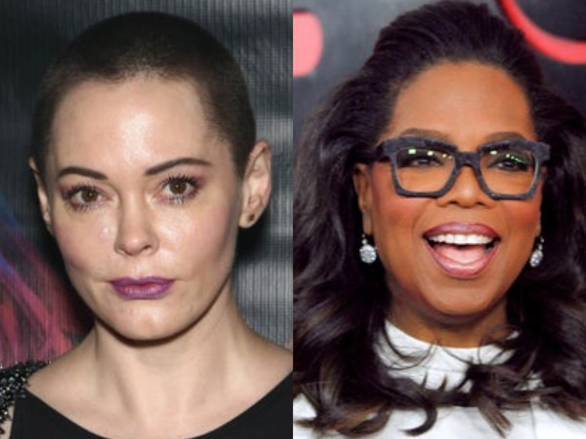 Rose McGowan calls Oprah Winfrey 'fake as they come' in scathing Twitter post