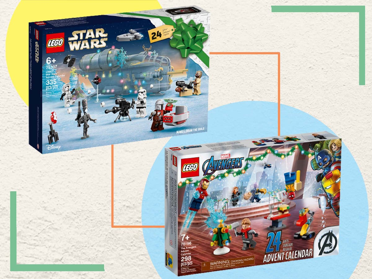 Lego's released not one but five advent calendars this year: Look inside