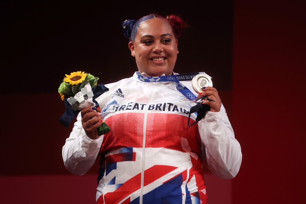 Who is Question of Sport guest and Olympic weightlifter Emily Campbell?