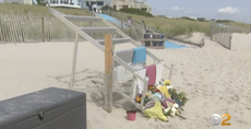 Lifeguard killed and seven others injured in lightning strike at New Jersey beach
