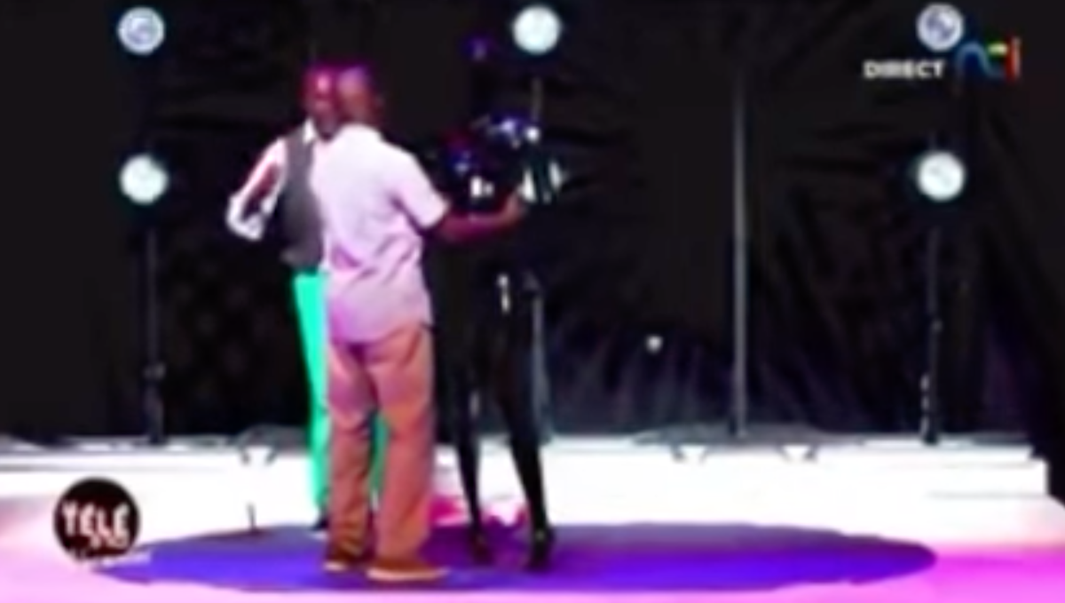Ivory Coast TV channel airs show with rape convict simulating sexual assault on dummy