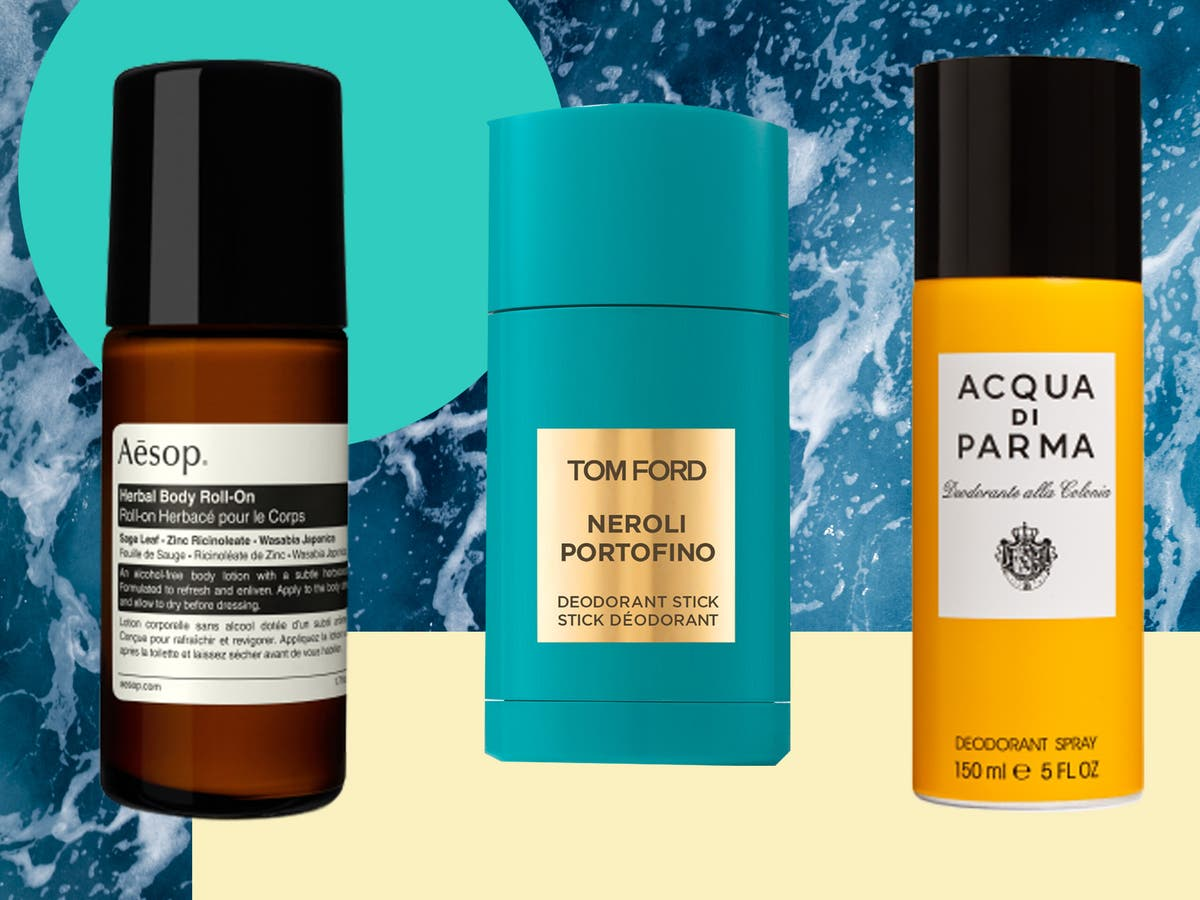 Stay fresh all day long with the best deodorants for men
