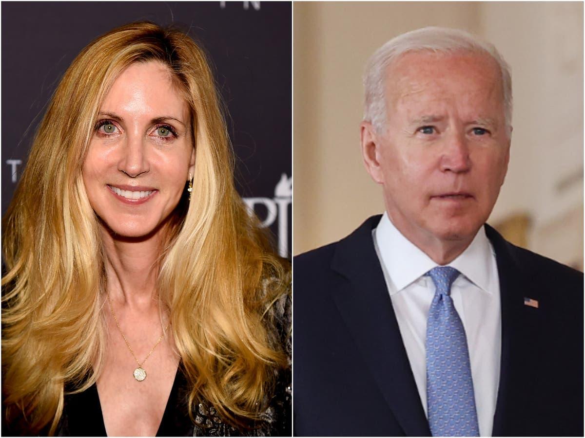 Ann Coulter praises Biden on Afghanistan