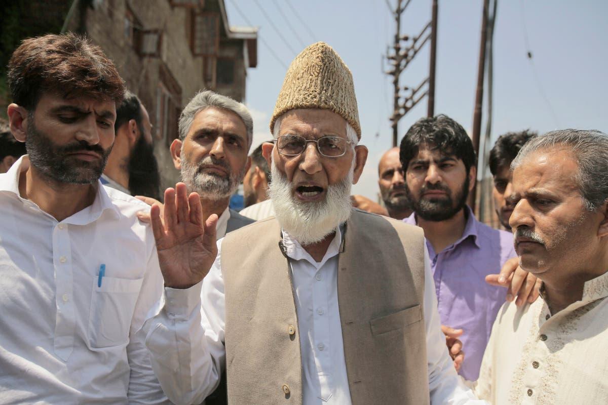 Security heightened in Kashmir after separatist leader Geelani dies at 92
