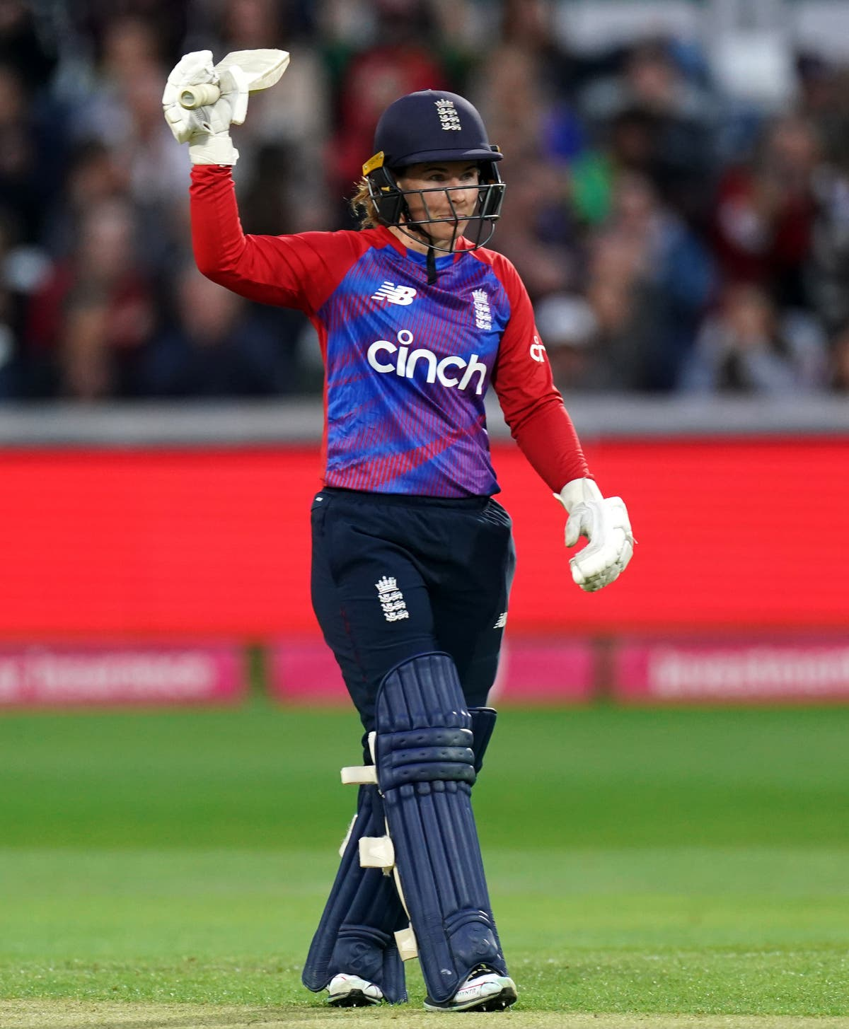 Tammy Beaumont agonisingly misses out on T20 ton as England beat New Zealand