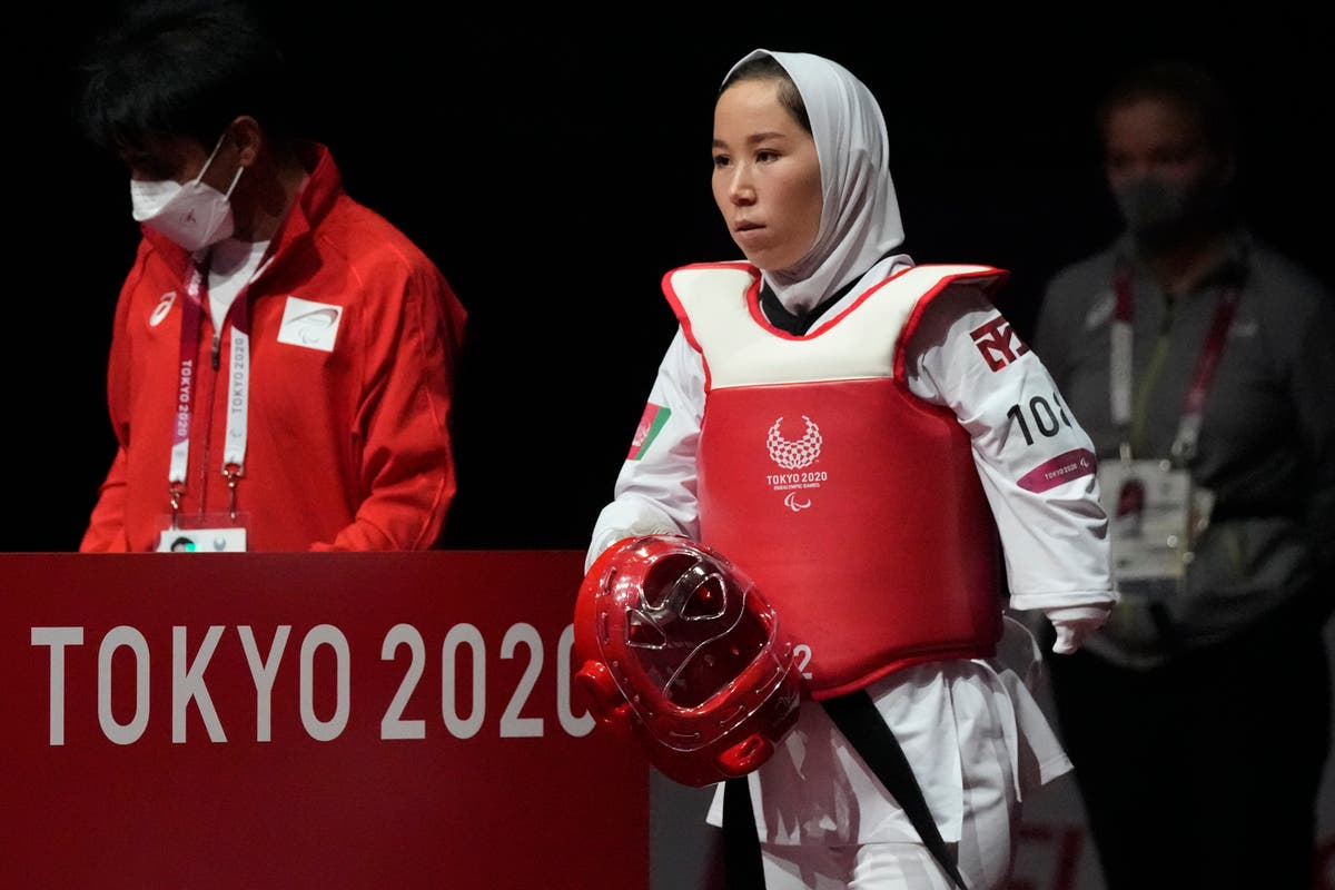 Afghan athlete Zakia Khudadadi gets her chance in taekwondo