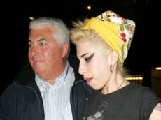Amy Winehouse's father says new biopic about star is '100 per cent not allowed'