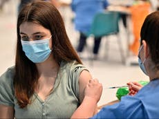One in four young adults in UK still to receive first coronavirus vaccine dose