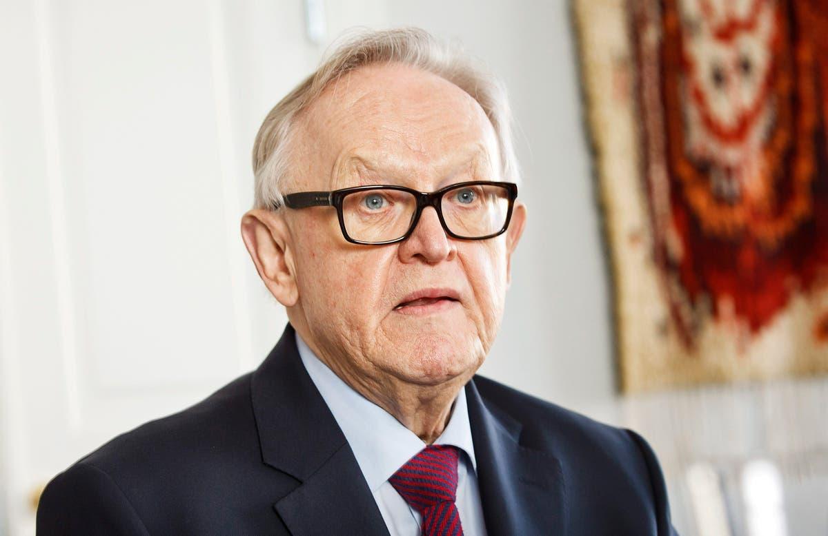 Ex-Finnish president, Nobel winner has advanced Alzheimer's