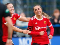Katie Zelem wants Manchester United Women to put down a marker against Reading