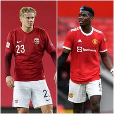 Fotball rykter: Will Real Madrid rebuild with Paul Pogba and Erling Haaland?