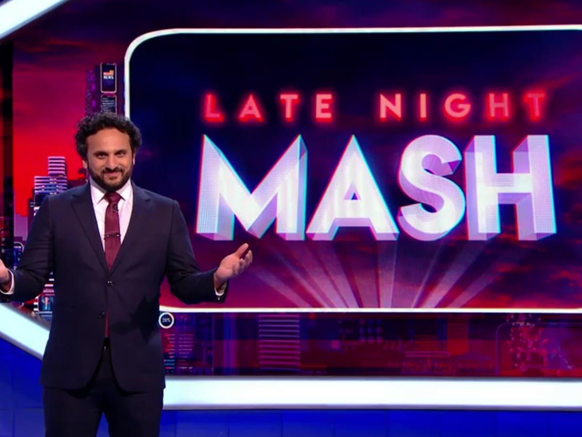 Nish Kumar calls himself 'the brown Laurence Fox' as The Mash Report returns