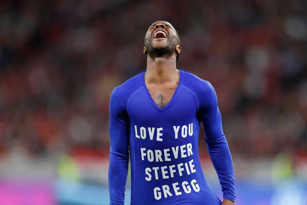 Who is Steffie Gregg? Raheem Sterling pays tribute after goal against Hungary