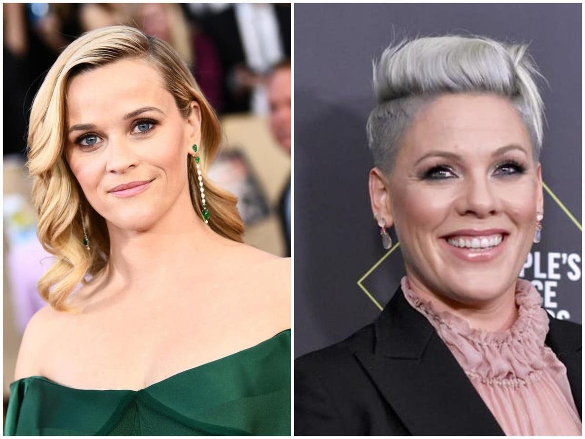 Reese Witherspoon and Pink among stars to rage against Texas abortion ban