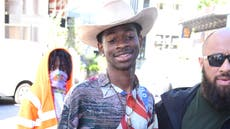 Lil Nas X shares 'pregnancy' reveal while promoting debut album