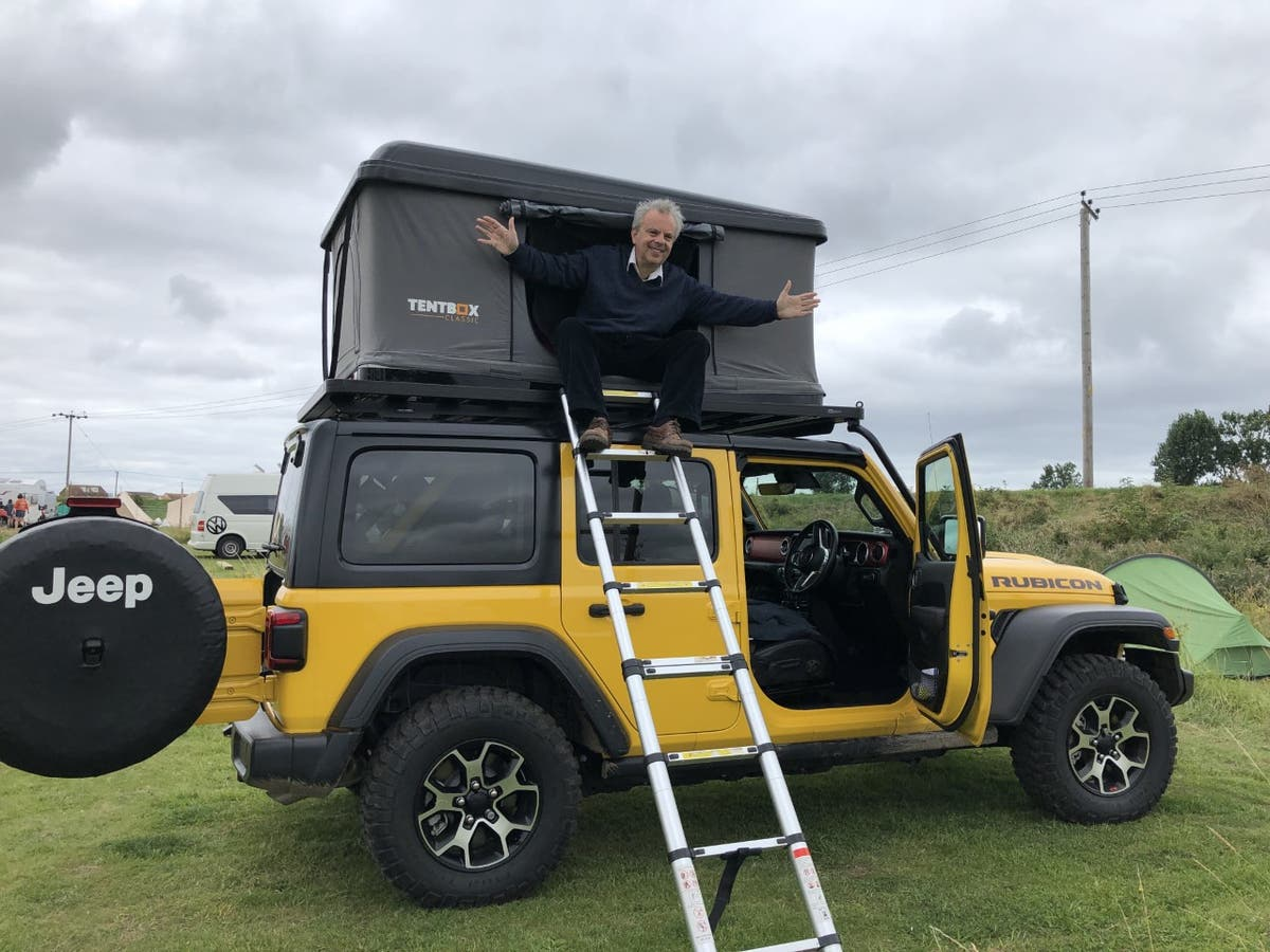 Jeep Wrangler Rubicon: A tonka truck for the middle-aged combined with a TentBox