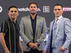 Josh Warrington fights for redemption and future in a perfect storm