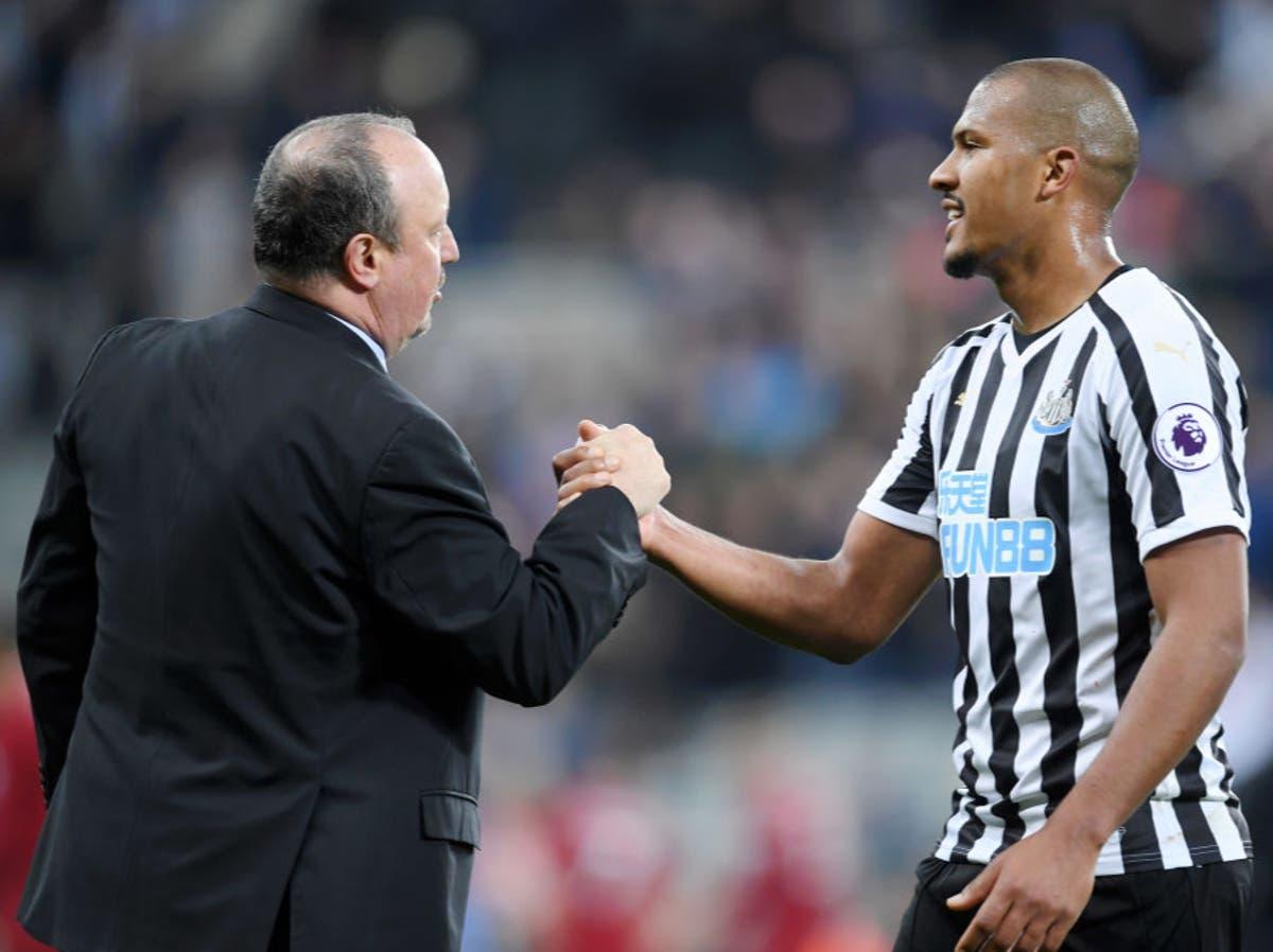 Salomon Rondon delighted to be back playing under Rafael Benitez at Everton
