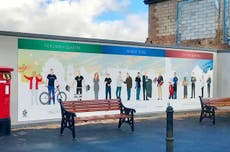 Mural tribute to pandemic shop workers citicised as not 'inclusive' enough