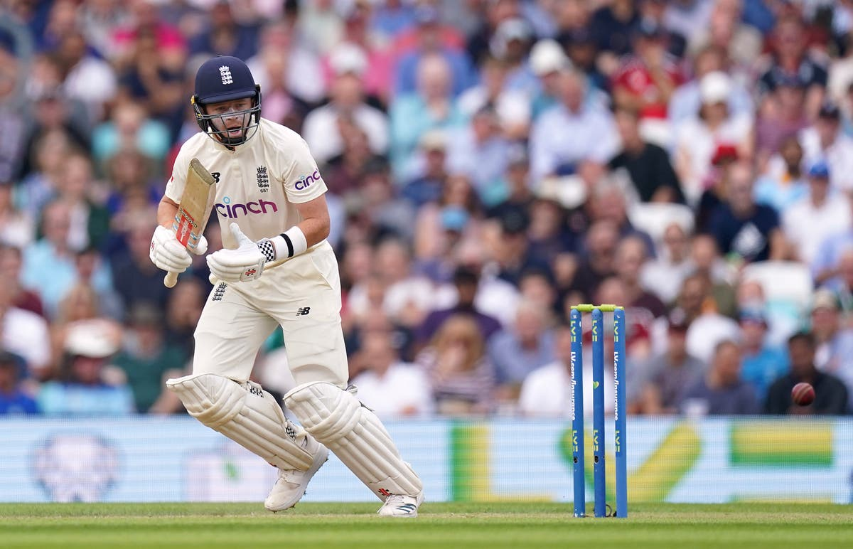 Ollie Pope gives England edge but India openers stall momentum