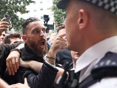 Violent clashes as anti-vaccine protesters try to storm medicines regulator