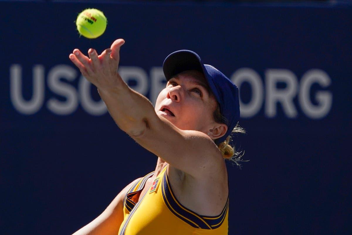 Simona Halep battles through at US Open as Victoria Azarenka falls