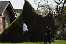 Biden goes door to door in hard-hit Louisiana to see damage from Hurricane Ida