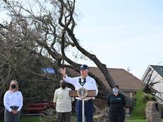 Biden comforts Louisiana as police go door-to-door after devastating floods in NY, NJ