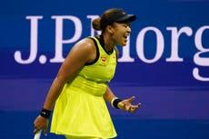 Naomi Osaka neem 'n blaaskans van tennis na 'n skok -nederlaag in die Amerikaanse Ope